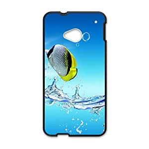 Tropical Fish HTC One M7 Cell Phone Case Black ugpj