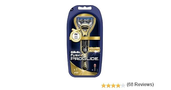 Gillette Fusion Proglide Power - Cuchilla de afeitar eléctrica, color dorado: Amazon.es: Salud y cuidado personal