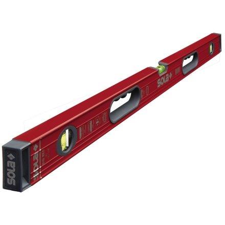 Sola Magnetic BIG RED 78'' High Profile Aluminum Box Level w/Handles - BRM78