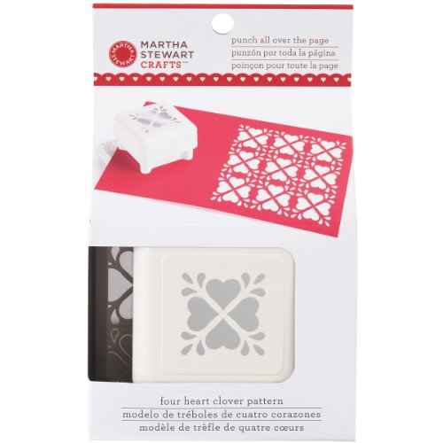 Punch Scrapbooking Scrapbooking Pages (Martha Stewart Crafts Heart Clover Pattern Punch All Over the Page)