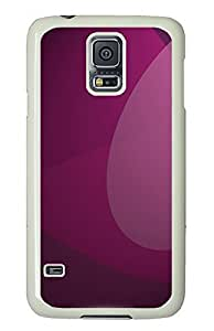 Samsung Galaxy S5 Abstract Purple Drawing12 PC Custom Samsung Galaxy S5 Case Cover White
