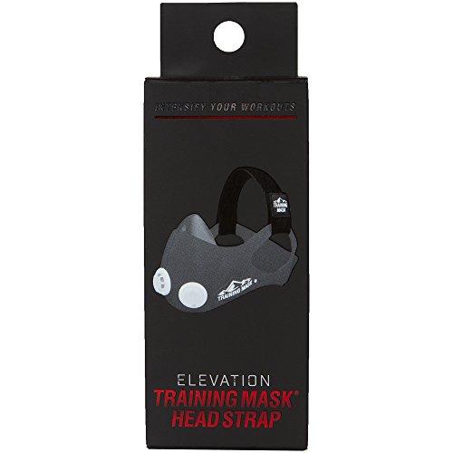 TRAININGMASK Training Mask Elevation Training Mask 2.0 Head Strap Only (Black)