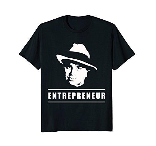 - Entrepreneur T-Shirt with Al Capone Design