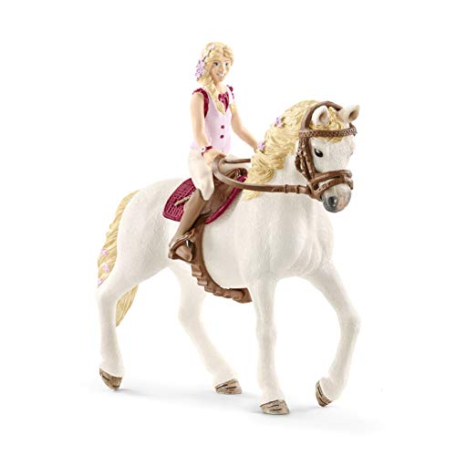 Schleich Horse Club Horse Club Sofia and Blossom Educational Figurine for Kids Ages 5-12