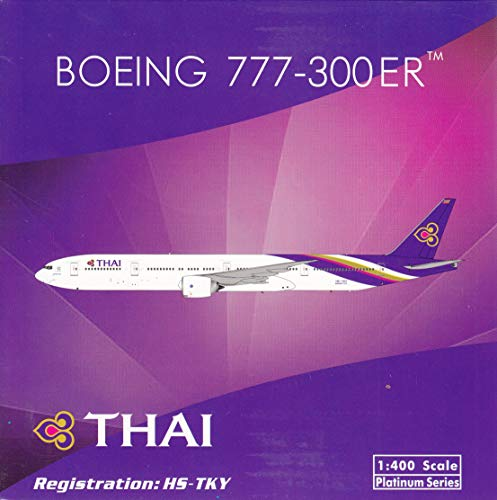 Phoenix Model PHX11517 1:400 Thai Airways Boeing 777-300ER Reg #HS-TKY (pre-Painted/pre-Built)