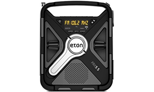 Eton FRX5 Hand Crank Emergency Weather Radio with SAME, NFRX