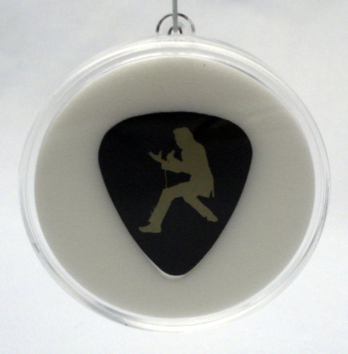 ette Series Guitar Pick #5 With MADE IN USA Christmas Ornament Capsule (Capsules Silhouette)