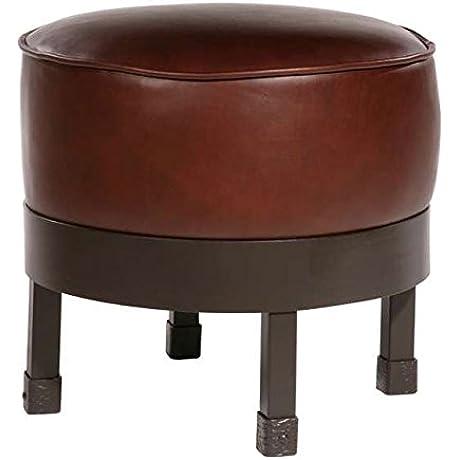 Cedarvale Iron Ottoman Std Faux Leather In Emu Sedona 204965 OG 69147 O 276451 OG 142816 O 759519