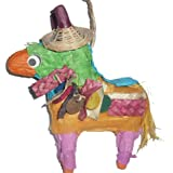 Fetch-It Pets Don the Donkey Polly Wanna Pinata Bird Toy