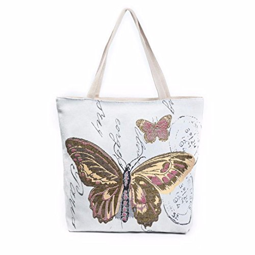 GBSELL Butterfly Printed Shopping Handbags product image