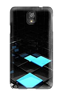LIALzWb3690qhUCj Faddish Cube Abstract Case Cover For Galaxy Note 3
