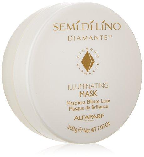 Price comparison product image Semi Di Lino Cristalli Illuminating Mask by ALFAPARF for Unisex - 7.05 oz Mask