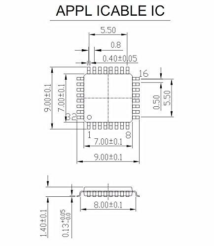 QFP32 TQFP32 LQFP32 FQFP32 MCU programming socket Clamshell Pitch