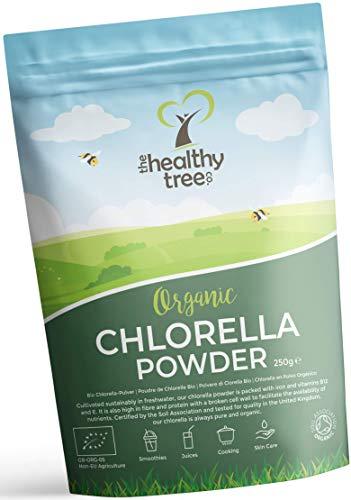 Polvere di Clorella Bio di TheHealthyTree Company per Succhi e Frullati - Alto Contenuto di B12, Proteine e Ferro - Muro… 1 spesavip