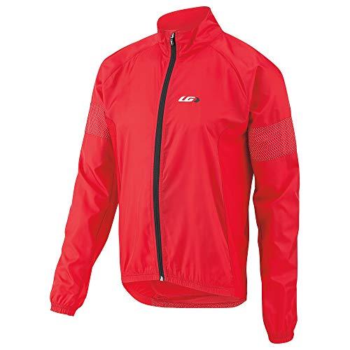 (Louis Garneau Men's Modesto 3 Bike Safety Windbreaker Jacket, Ginger, Large)