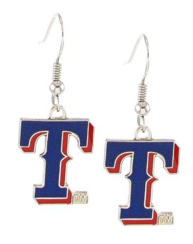 texas rangers earrings - 2
