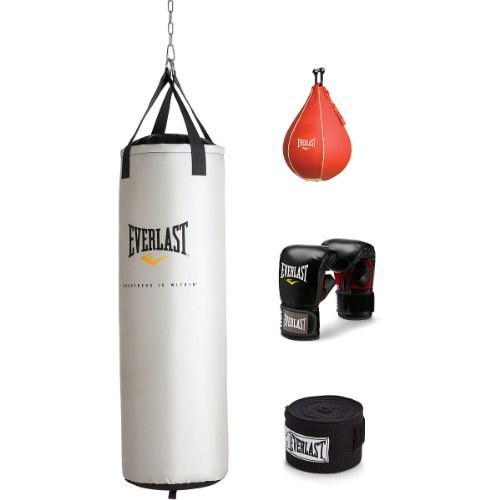 Everlast 70 lb Platinum Heavy Bag Kit by Everlast