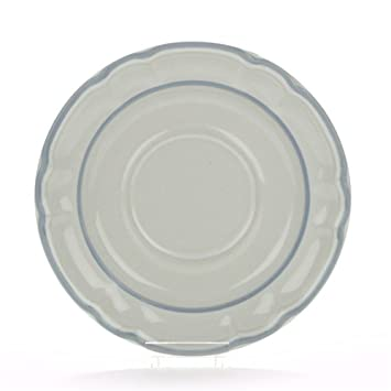 Amazon.com | Floral Expressions by Hearthside, Stoneware Saucer: Saucers