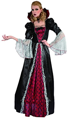 [YOU LOOK UGLY TODAY Women's Fairytale VAMPIRESS Halloween Party Costume Dress -Large] (Womens M&m Halloween Costume)