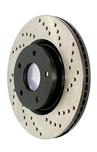 StopTech 128.44130L Sportstop Drilled Brake Rotor