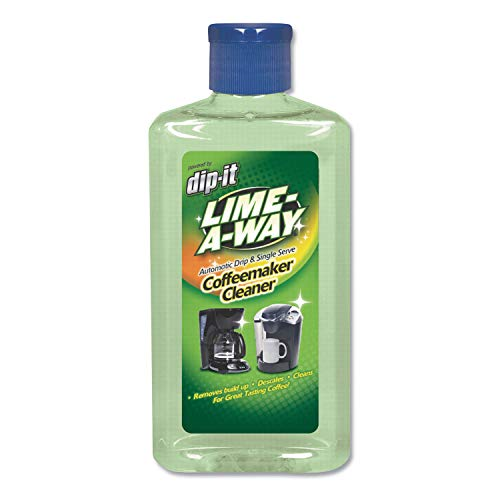 LIME-A-WAY 36320CT Dip-It Coffeemaker Descaler and Cleaner, 7 oz Bottle (Case of 8)