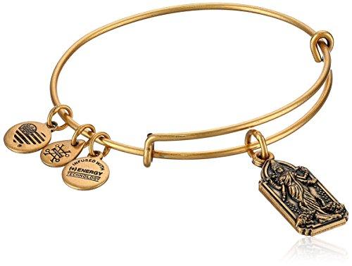 Alex and Ani Lakshmi Bangle Bracelet, Rafealian Gold, Expandable