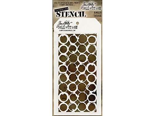 (Stampers Anonymous StampersA Layering Stencil THoltz Ringer)