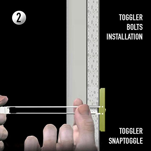 12 Pieces Toggler Snaptoggle Drywall Anchor With Included