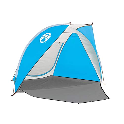 Coleman Beach Tent|Portable Outdoor Beach Tent|Beach Shade with 50+ SPF Sun Protection