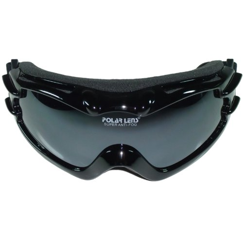 POLARLENS PG4 goggles / snowboard goggles / sunglasses with reflective FLASH-MIRROR + microfiber cleaning cloth bag! Great looking goggles by european designer. Excellent quality! Skiing / Snowboarding / - Snowboarding Sunglasses
