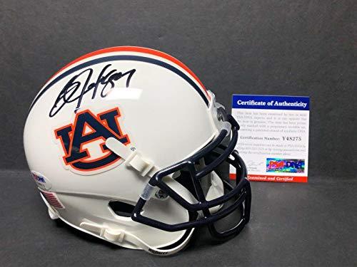 (Bo Jackson Signed Auburn Tigers Football Mini-Helmet *Raiders* Royals Y48275 - PSA/DNA Certified - Autographed College Mini Helmets)