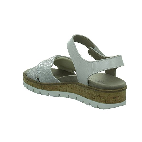 304943 Damen Silber Wörishf 1008356 30 Beq Sandaletten Sandl LONGO RqSdg8Rw