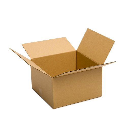 Pratt PRA0087 Recycled Corrugated Cardboard Single Wall Standard Box with C Flute, 16