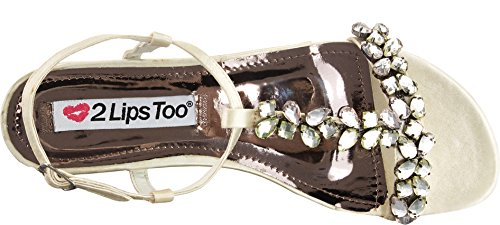 Too Ivory Satin Too 2 Womens Too Fiona Fiona Lips xqXCv7