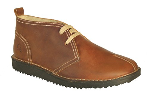 Oxygen Leather Ankle Boot Essen TAN