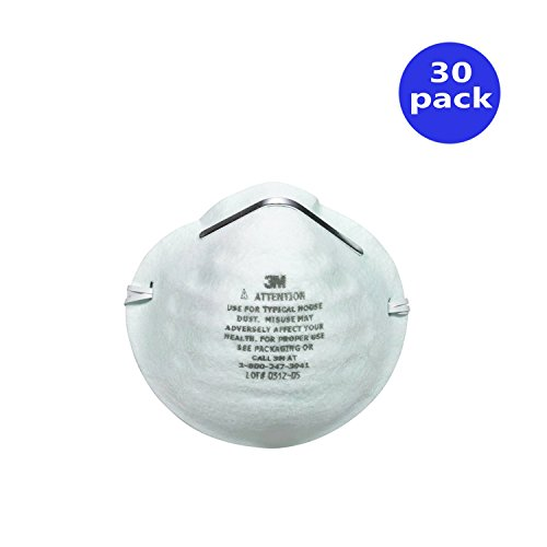 3M Home Dust Mask, (30 Pack)
