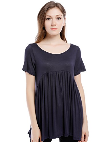 Blooming Jelly Womens Pleated Babydoll