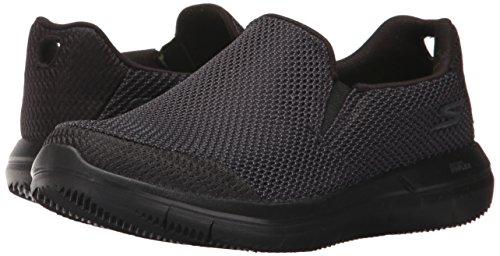 Caminar Mujer de para Zapatos 2 Go Negro Flex Skechers 14992 n6qg474