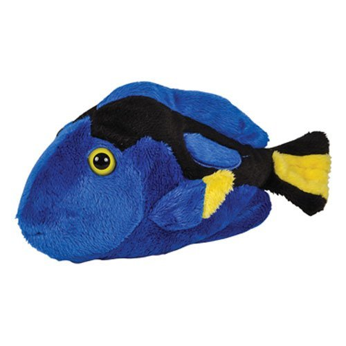 Adventure Planet Plush Pal - BLUE TANG (7.5 inch) - Yellow Tang Animals