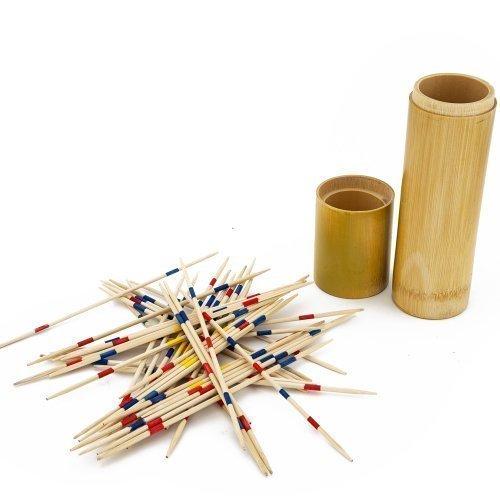 in legno Mikado Scegliere Fino Bastoncini Set in bambù tubo JDS PH3109