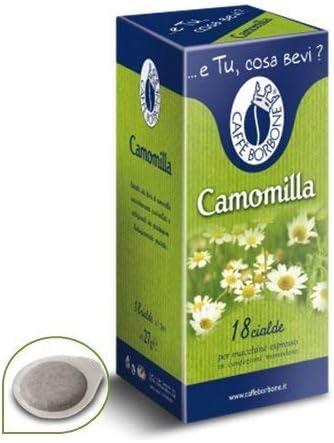 18 monodosis de papel de manzanilla Caffè Borbone, de 44 mm, aptos para cafetera Mokona Tazzona.: Amazon.es: Hogar