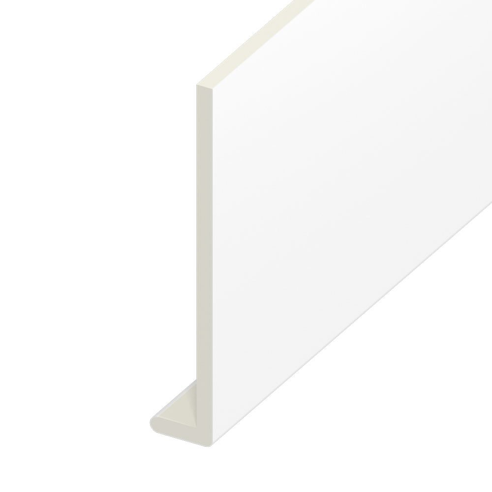 Fascia Boards 9mm 5M Length UPVC Eurocell Capping Boards White Various Sizes Options (225mm Capping Board)