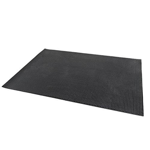 CAP Rubber Utility Mat (4-Feet x 6-Feet) by CAP Barbell