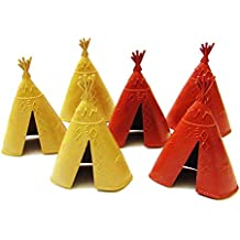 6 Pcs Indian Teepee Sets (4 inches)