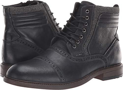 Pictures of Steve Madden Men's Trentin Ankle Boot TREN01M1 Black Leather 4