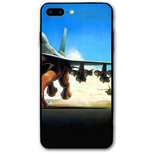 Fantasy Rhino Planes Abstract Personality Printing Fashion IPhone 8 Plus Case Suitable For 5.5 (Fantasy Plane)