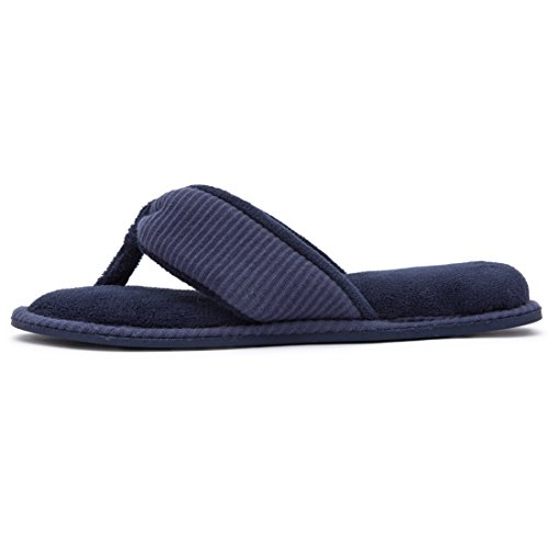 Navy Women's Foam Thong Spa House Memory Slippers blue PCwPY7q