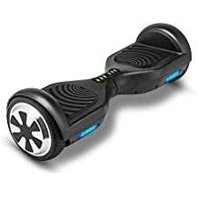 "VEEKO Hoverboard UL2272 Certified, Electric Smart Self Balancing Scooter with LED Lights, Power Motor 6.5"" TWO-Wheels"