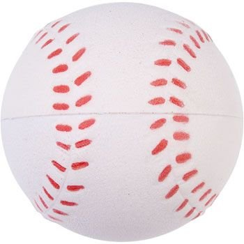Squeezable Sport Ball (Lot of 12 Foam Baseball Stress Relief Squeezable Balls Party Favors)