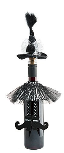 Ganz Halloween Wicked Wine Bottle Toppers (one item only) by Ganz]()